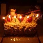 クリスマスケーキのブッシュドノエルの由来、簡単レシピも♪