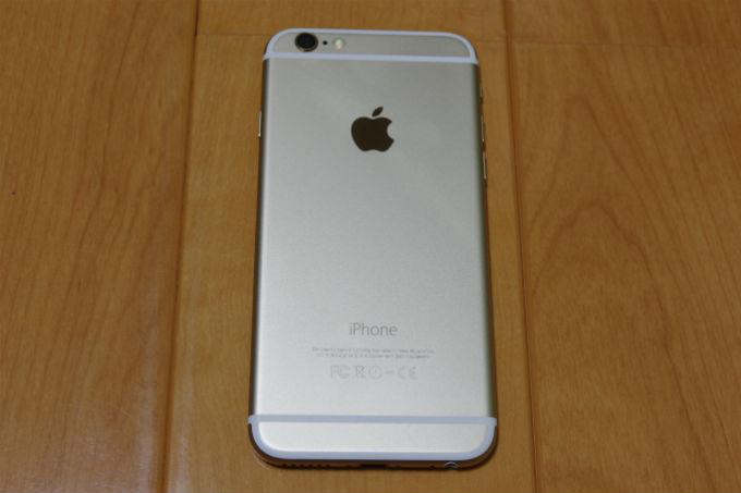 買ったばかりの頃のiPhone6