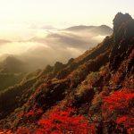 石鎚山の紅葉の時期や見ごろ、登山ルートのまとめ