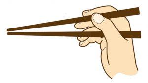 箸の持ち方で育ちを判断されたくない!練習してマナーも習得